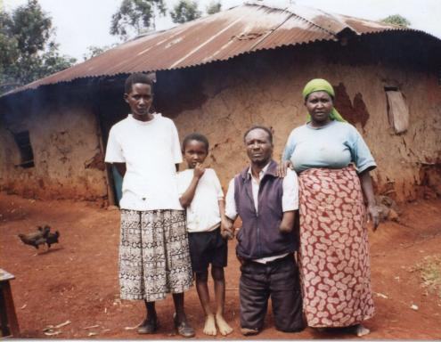 Sponsored family (father handicapped).